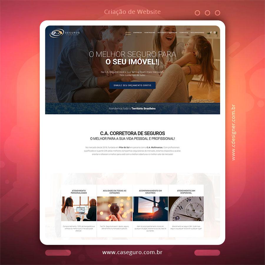 Criação de Site, Desenvolvimento de Website, Criação de Landing Pages